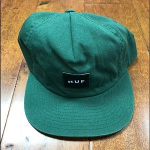 Huff green SnapBack one size fits all